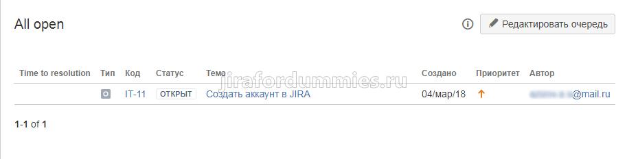 Автоматическое создание задач в Jira SD