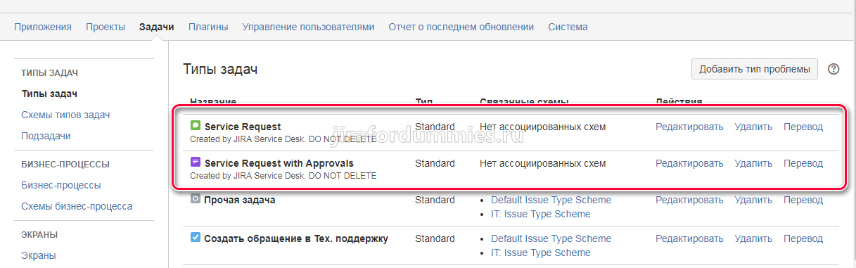 Jira Service Request and Service Request with Approvals